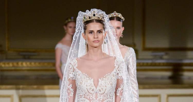 noiva no estilo princesa é uma das tendências para 2017