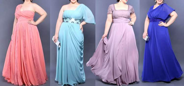 Ver vestido de festa para gordas