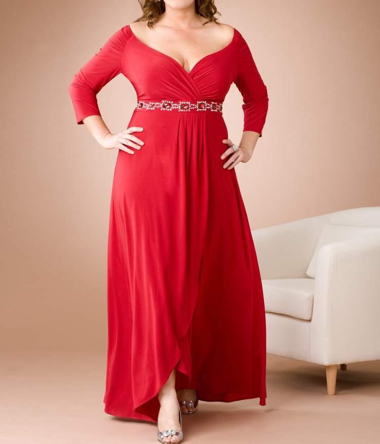 vestido para convidada de casamento gordinha