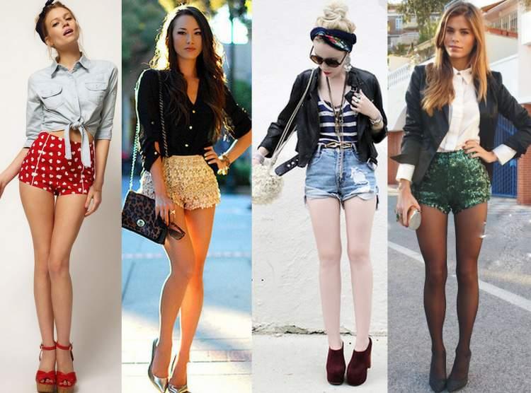 7 maneiras de usar shorts jeans - Site de Beleza e Moda f32c48c673877