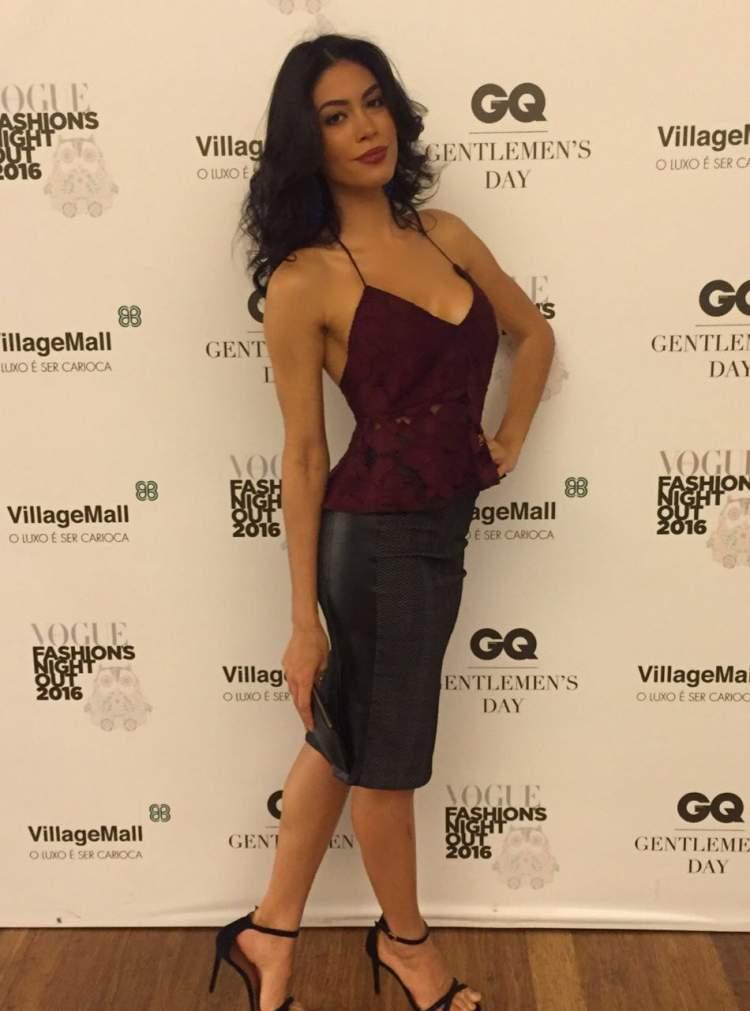 Sheislane Hayalla na festa da Vogue