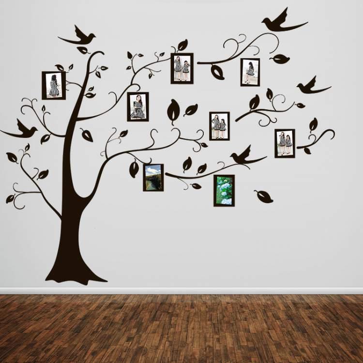 adesivos de parede para decorar sua casa sem gastar muito dinheiro