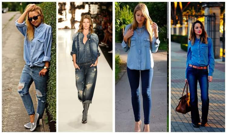 looks descolados com jeans