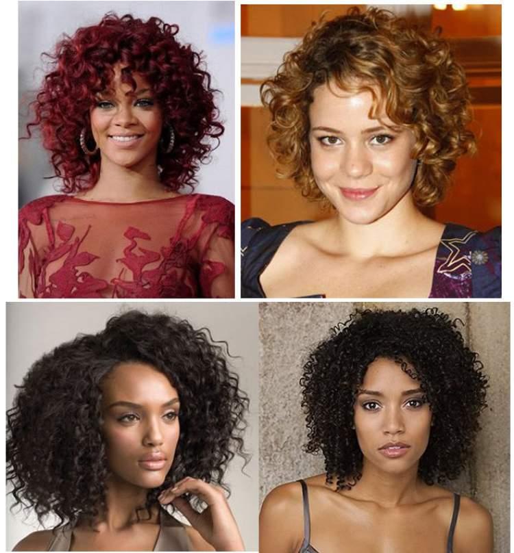 melhores cortes para cabelos cacheados volumosos