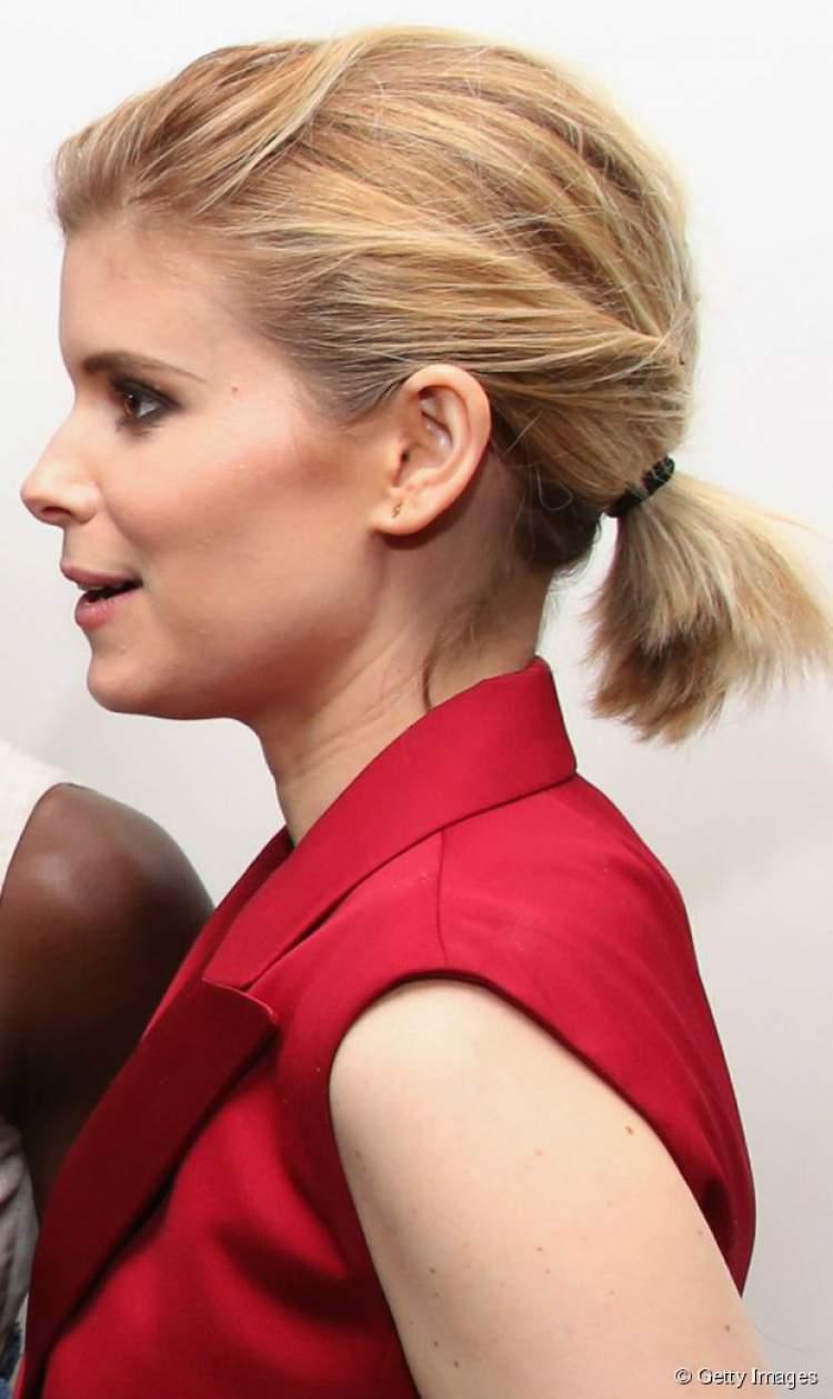 penteado rabo de cavalo para cabelos curtos