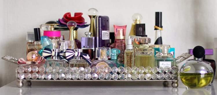 como guardar o perfume