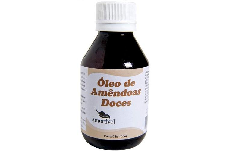 óleo de amêndoas