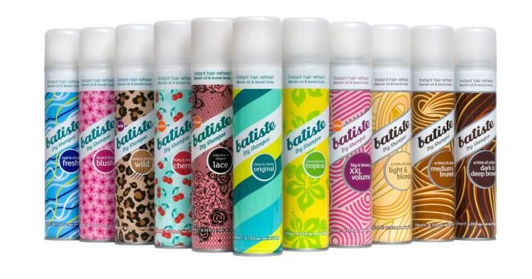 Shampoo a Seco Batiste