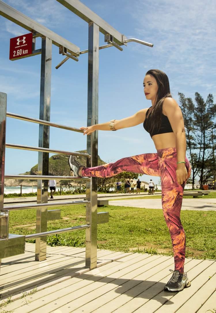 Ana Paula Gov treinando