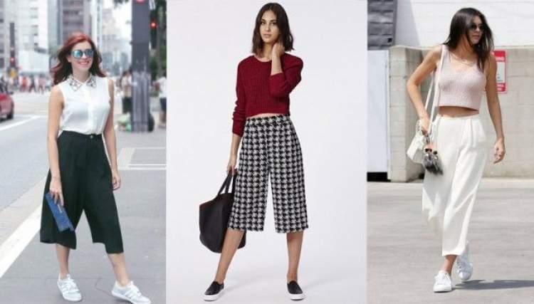Calça Pantacourt é uma tendência da moda verão 2017