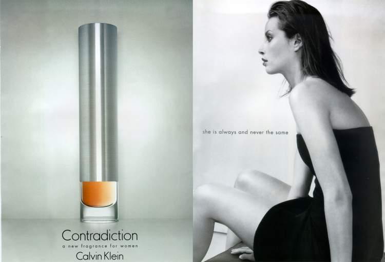 Contradiction de Calvin Klein é um dos melhores perfumes para mulheres românticas