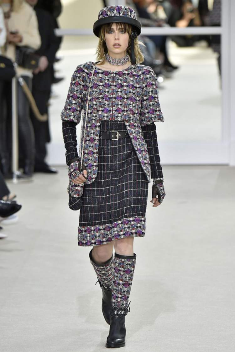 Estilo Grunge da Chanel: Tendência da Moda Outono/Inverno 2017