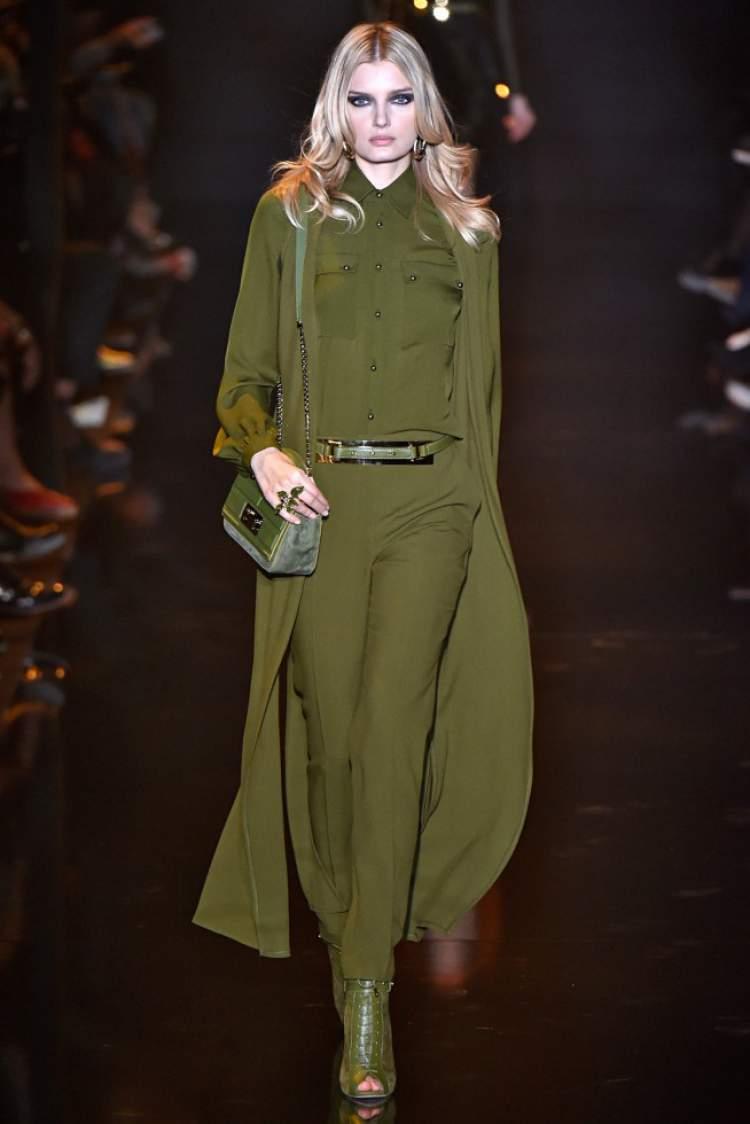 tendência militar na moda outono/inverno 2017