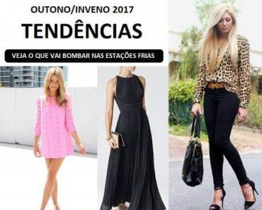 seleção de 17 tendências da moda outono inverno 2017