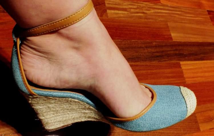 Anabela é um dos sapatos perfeitos