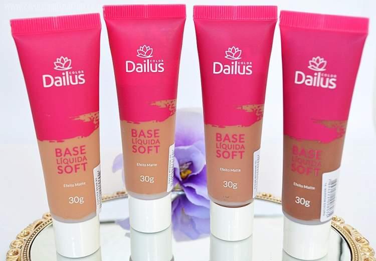 Base Líquida Dailus Soft com Efeito Matte