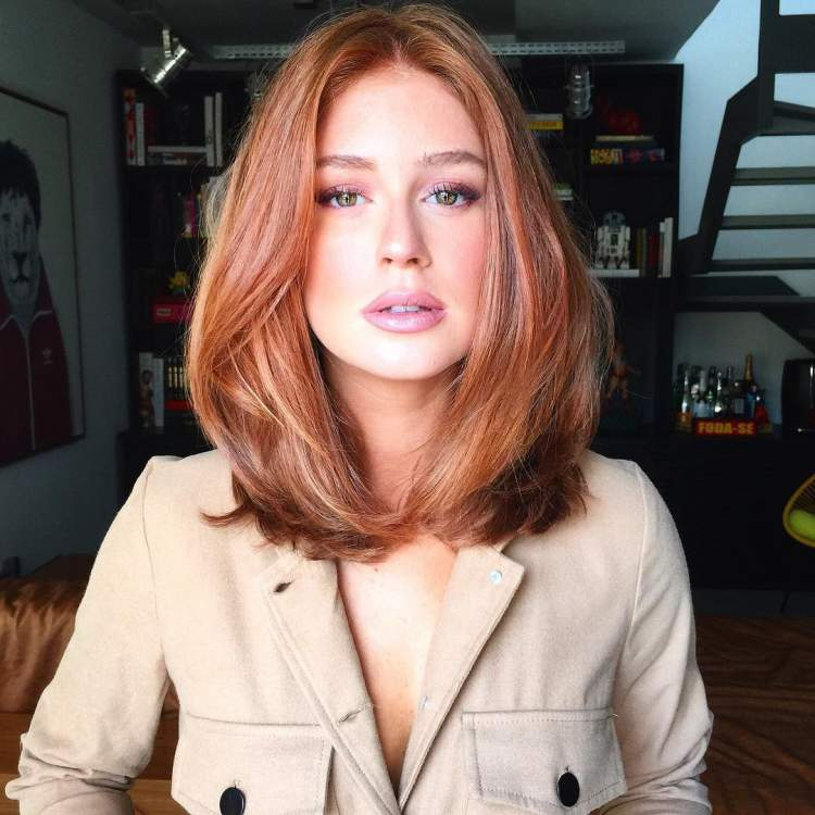 Marina Ruy Barbosa é fã do corte Long Bob