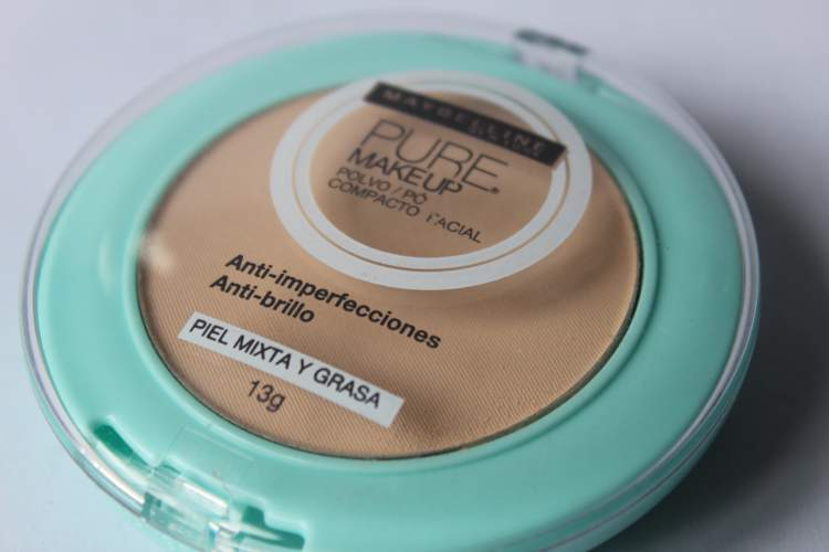 Pó Compacto Maybelline Pure Makeup