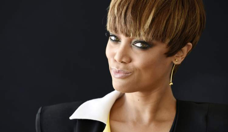 Tyra Banks é contra os padrões de beleza