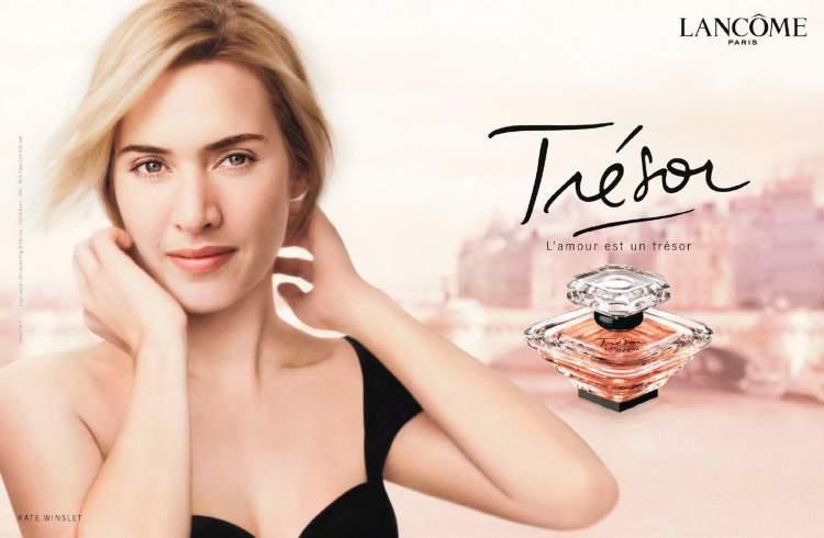 Trésor Lancôme é uma das fragrâncias mais vendidas do mundo