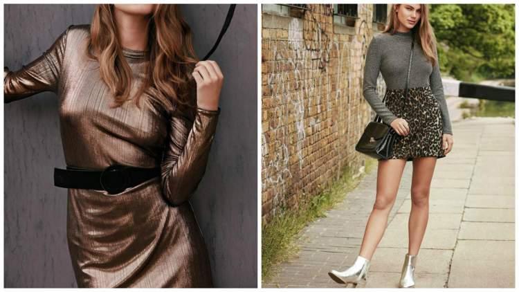 Uma das tendências da moda inverno 2017 que promete causar pelas ruas é a dos metalizados.