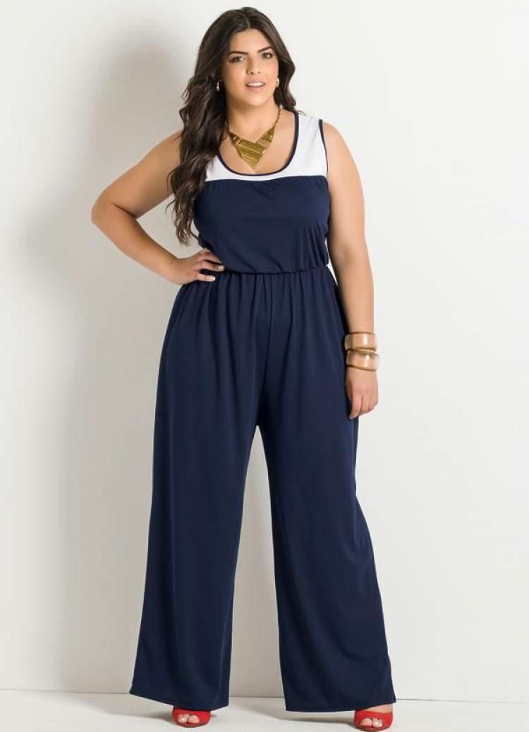 Macacão da Moda Plus Size 2017