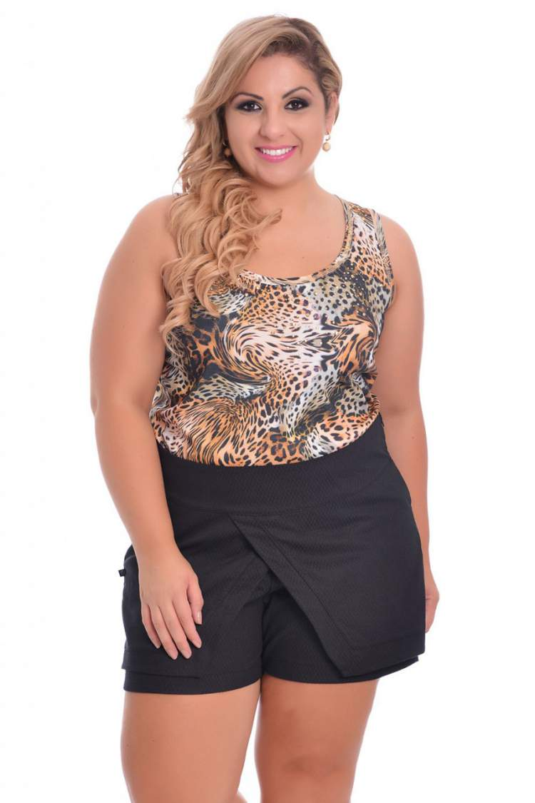 Shorts da moda plus size 2017