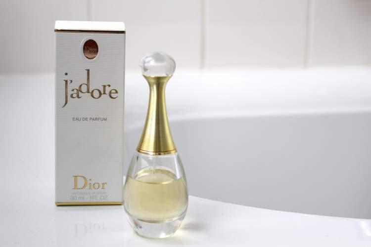 J'adore de Dior é um dos perfumes mais vendidos no mundo