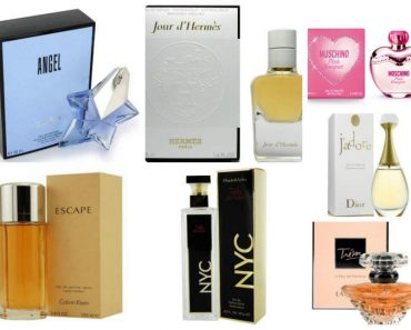 Top 12 perfumes mais desejados do mundo