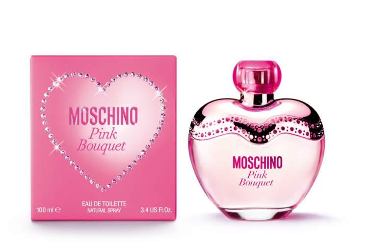 Pink Bouquet de Moschino é um dos perfumes mais desejados do mundo