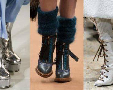 Conheça 12 Tendências de Calçados da Moda Inverno 2017