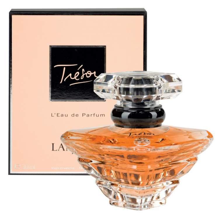 Trésor de Lancôme é um dos perfumes mais desejados do mundo
