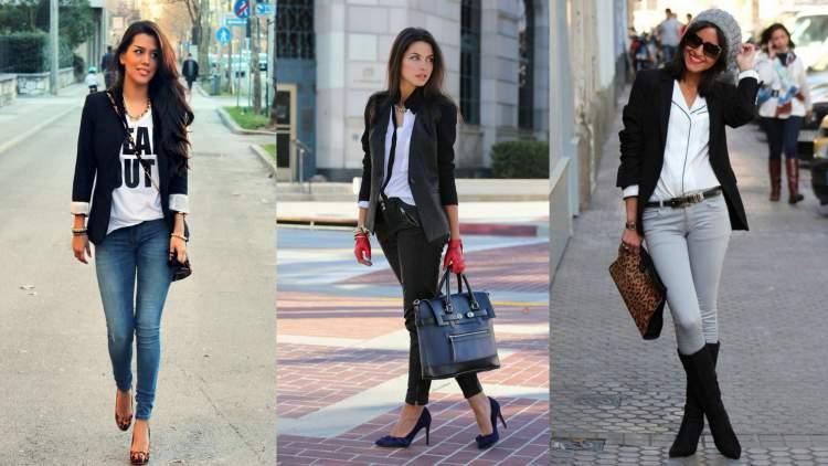 Looks femininos com blazer