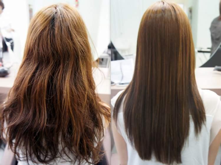 reconstruacao capilar cabelos