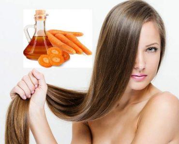 Óleo de cenoura caseiro ajuda o cabelo crescer rápido e forte: veja como fazer
