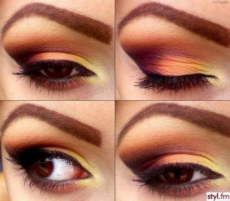 Degradê de cores para deixar a maquiagem extremamente bonita