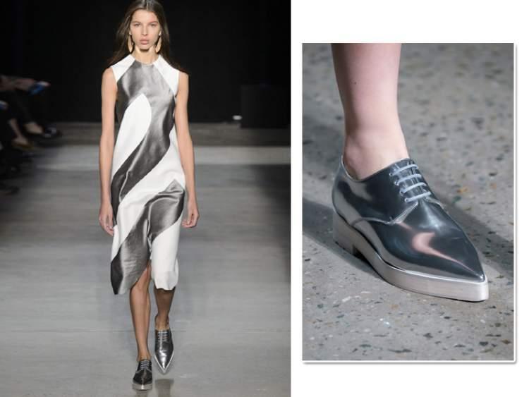 Itens metalizados são tendências da moda primavera 2017