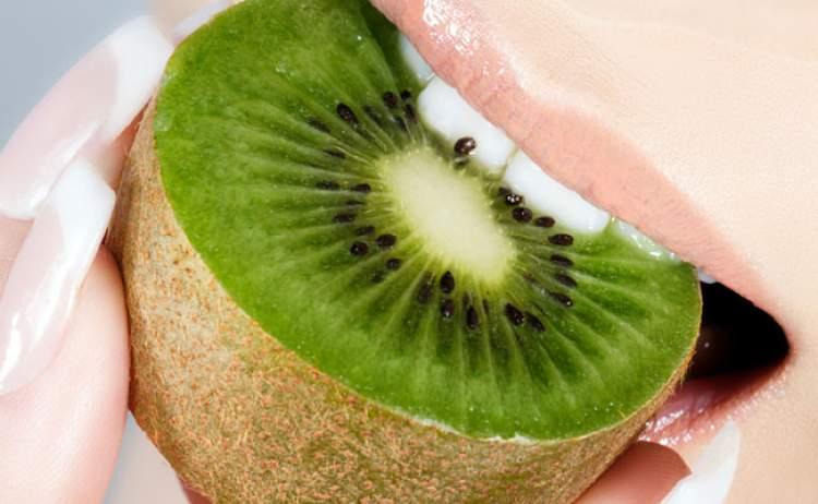 kiwi é um alimento saudável e saboroso