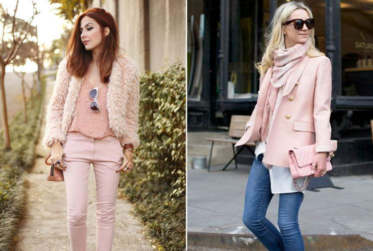 Looks com a cor rosa pale dogwood
