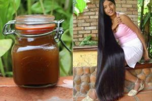 Aqui está o segredo das indianas para fazer o cabelo crescer muito rápido 1