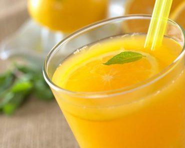 Você jamais deve beber suco de laranja se estiver doente
