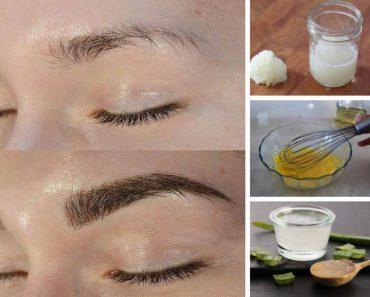 Melhores tratamentos caseiros para engrossar as sobrancelhas