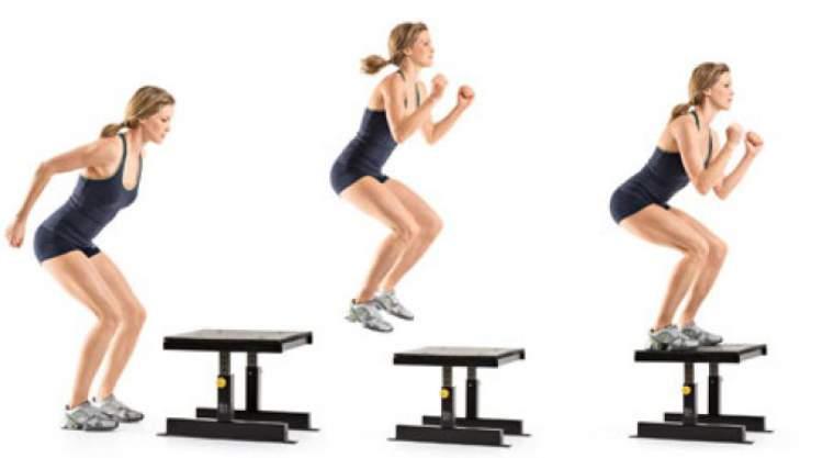 Um dos exercícios que mais engrossam pernas e coxas é o Pliometria