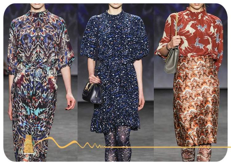 Estampas são tendências da moda 2018