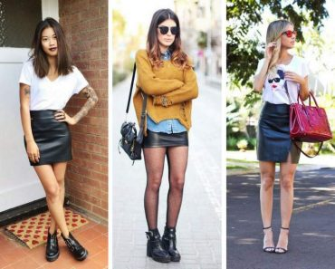 6 maneiras de usar a saia de couro e arrasar no look