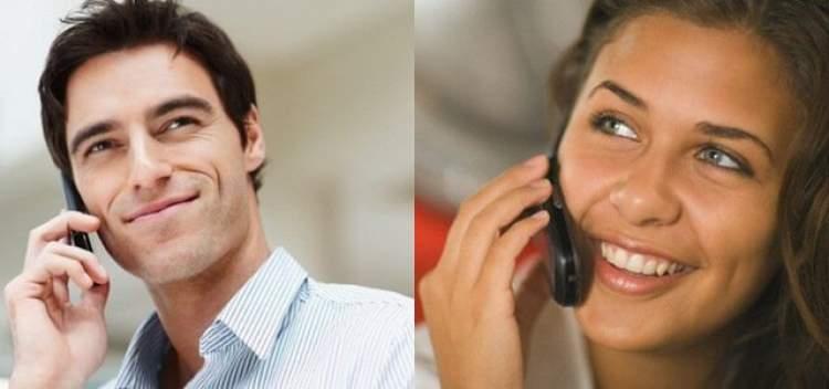 Paquera por telefone