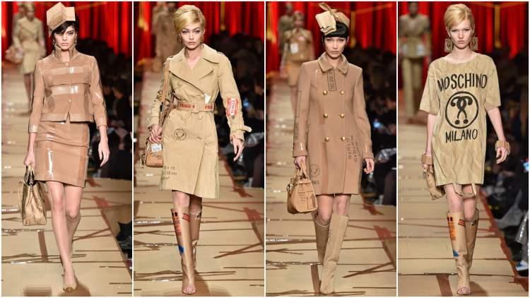 Tons neutros são tendências da moda 2018