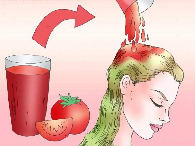 Aprenda fazer um poderoso tônico de tomate para turbinar o crescimento dos cabelos, combater a queda e aumentar o brilho dos fios