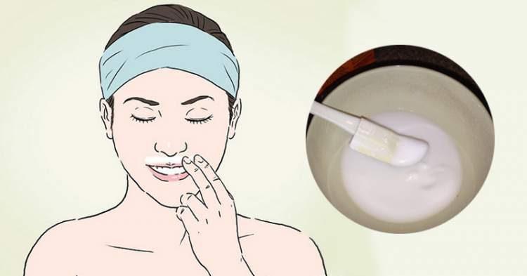 Receita de bicarbonato de sódio para remover os pelos do rosto