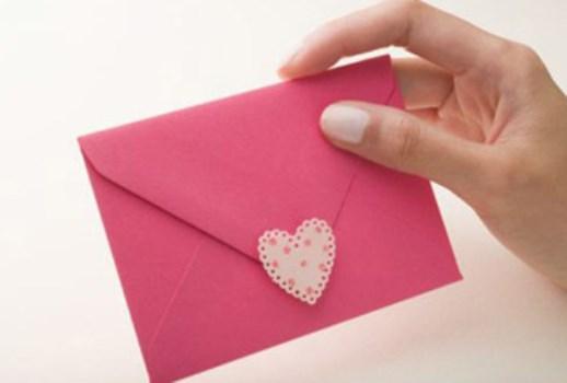 Carta de amor é uma maneira de celebrar o dia dos namorados sem gastar muito